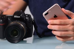 Digital SLRs Will Never Be Replaced By iPhones