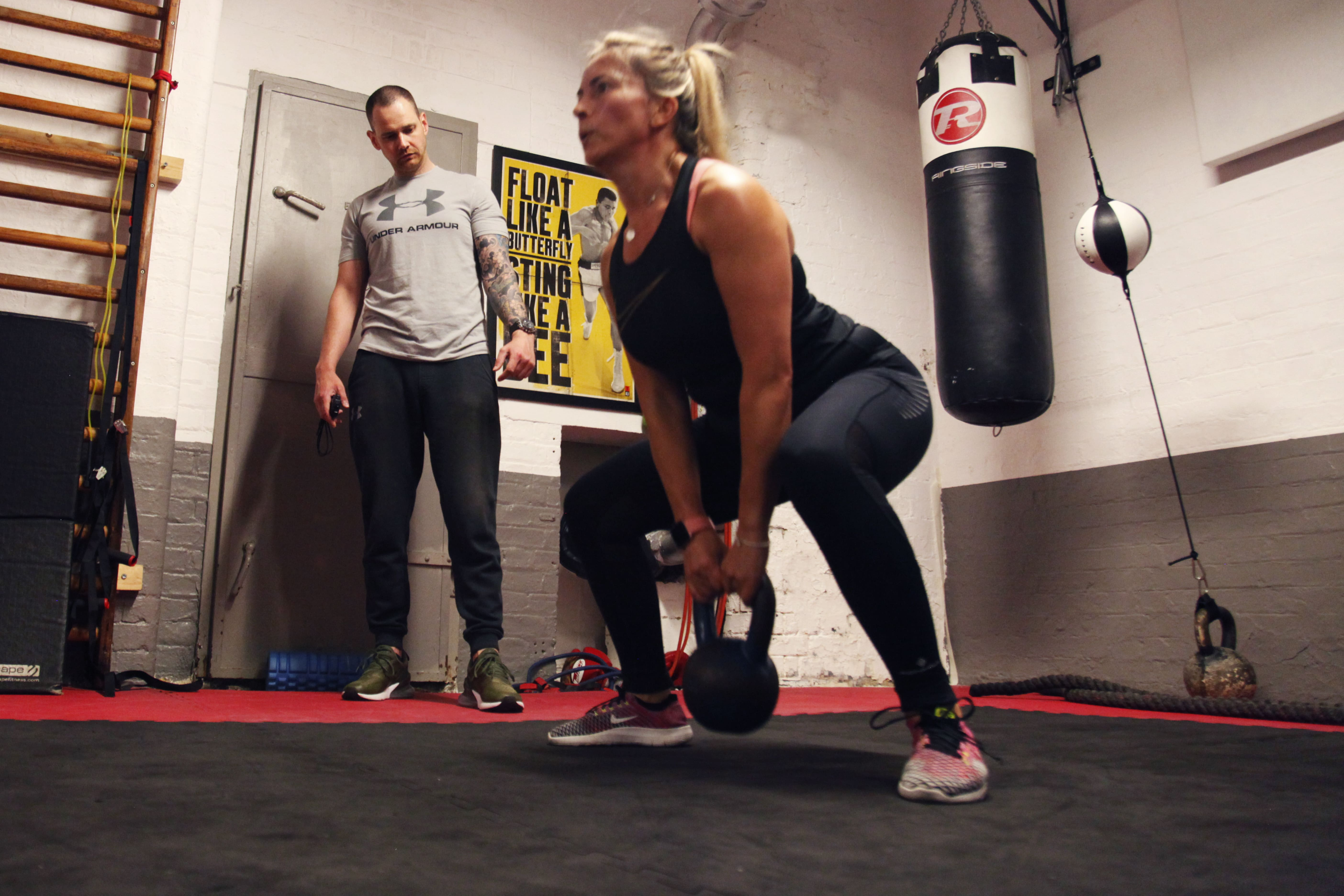 personal fitness trainer in London